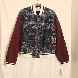 Free People Electric Navy jacket NWT